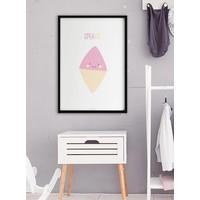thumb-Poster babykamer spekkie met tekst-6