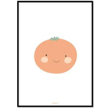 Lievespulletjes Poster babykamer sinaasappel