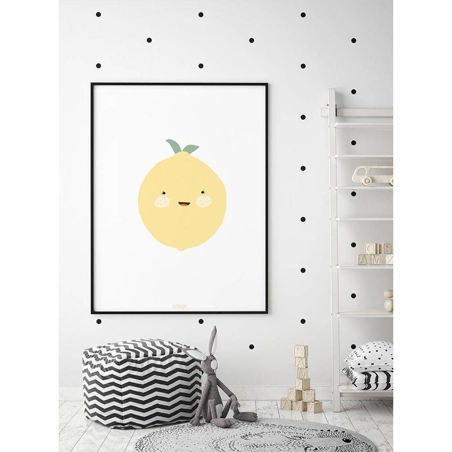 Poster babykamer citroen-2
