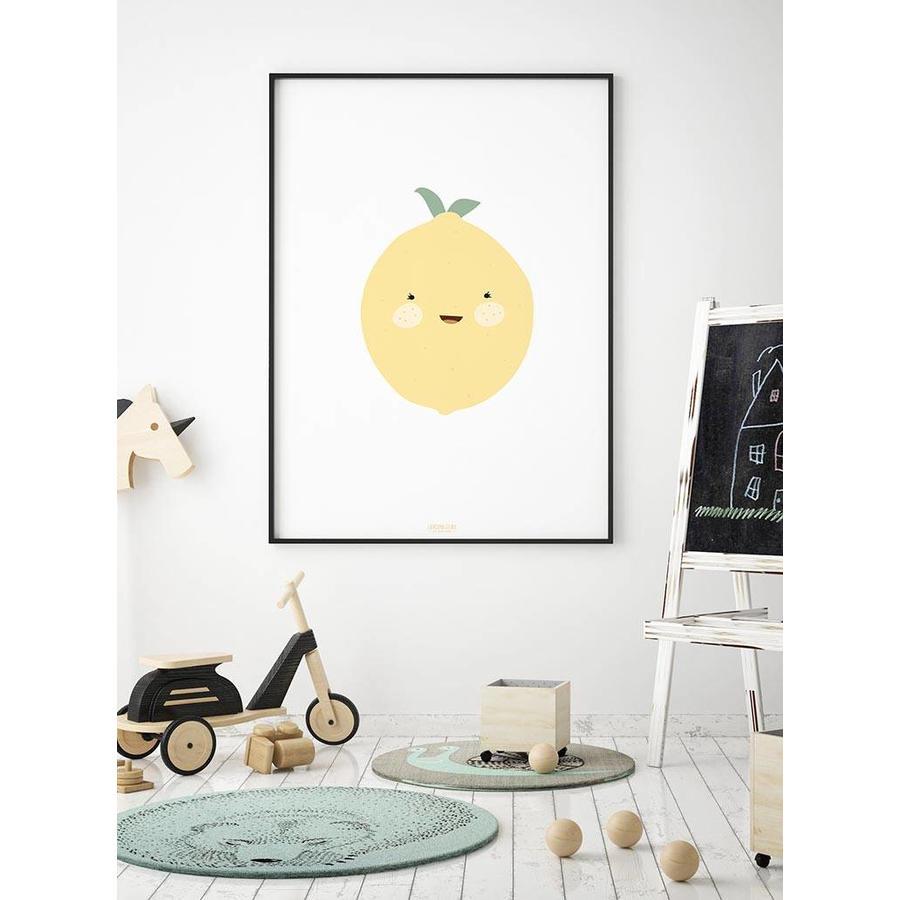 Poster babykamer citroen-3