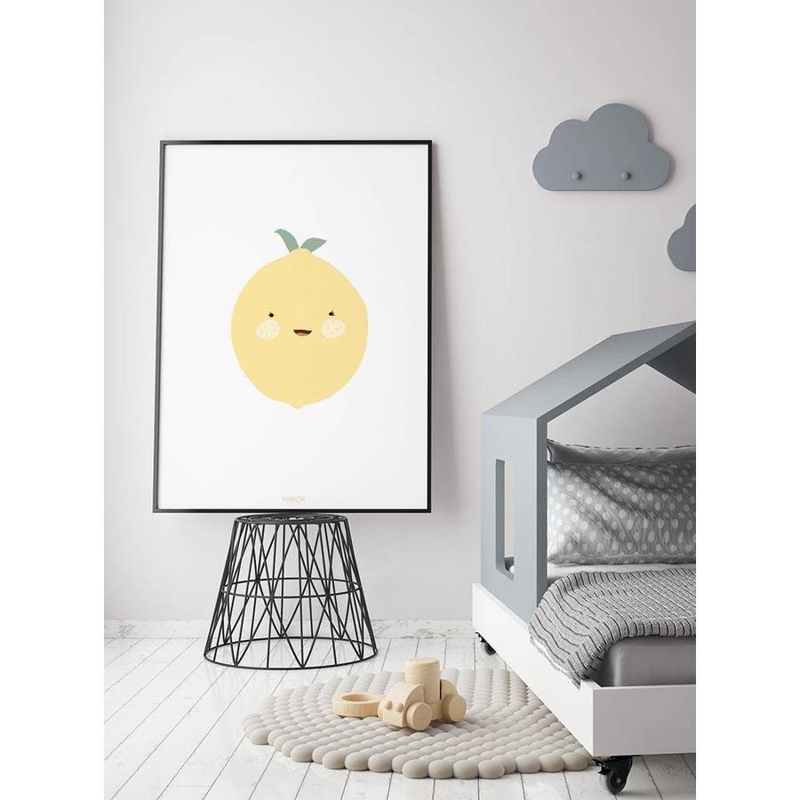 Poster babykamer citroen-4