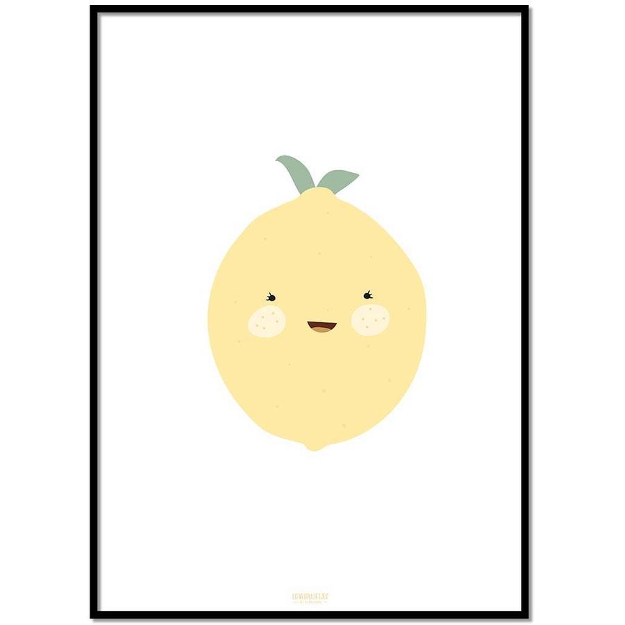 Poster babykamer citroen-1