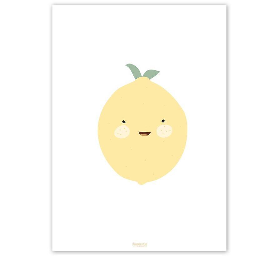Poster babykamer citroen
