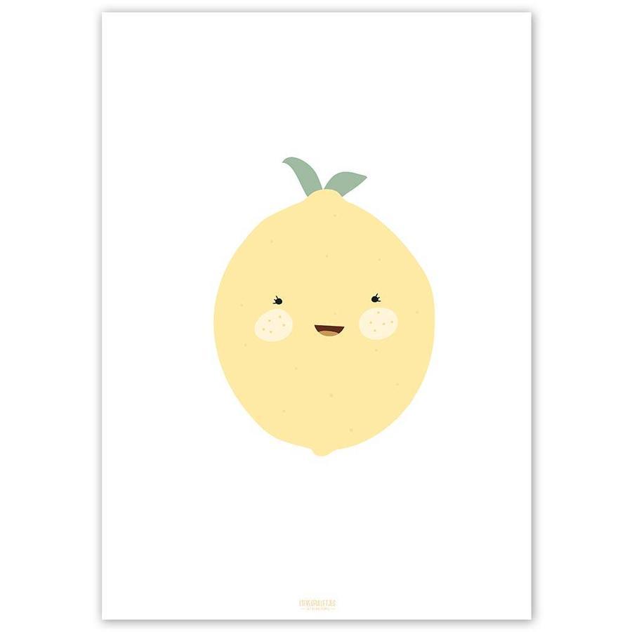 Poster babykamer citroen-5