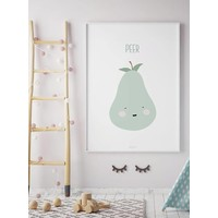 thumb-Poster babykamer peer - met tekst-6
