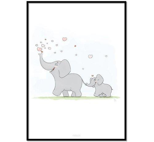 Lievespulletjes Roy Korpel original olifantje in het bos