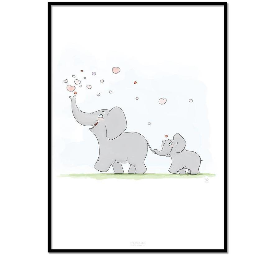 Roy Korpel original olifantje in het bos