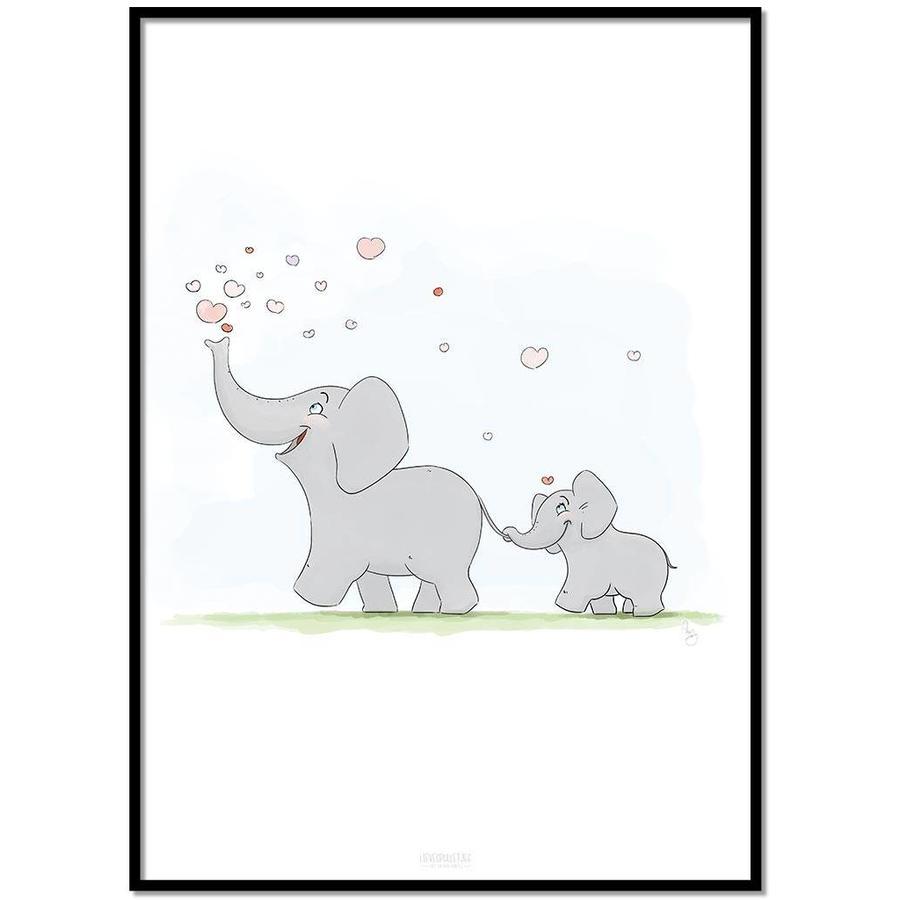 Roy Korpel original olifantje in het bos-1