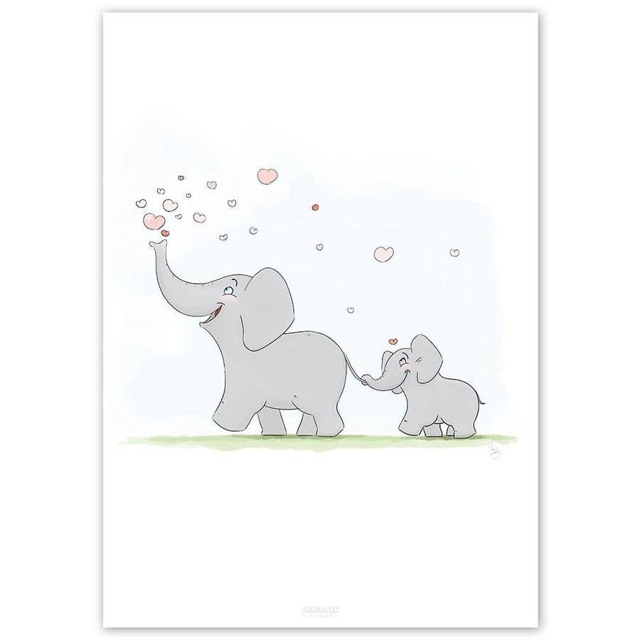 Roy Korpel original olifantje in het bos-4