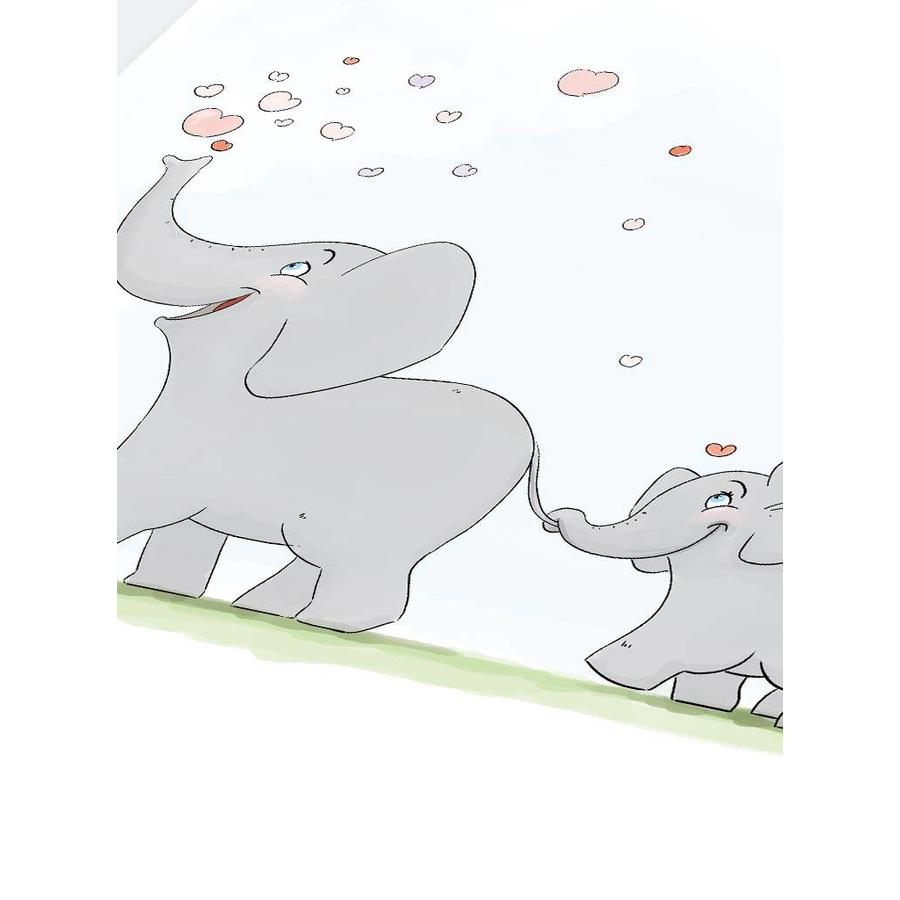 Roy Korpel original olifantje in het bos-5