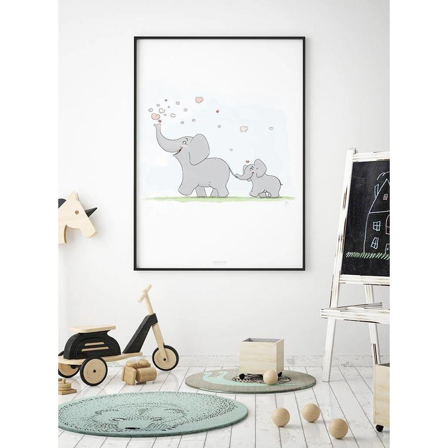 Roy Korpel original olifantje in het bos-2