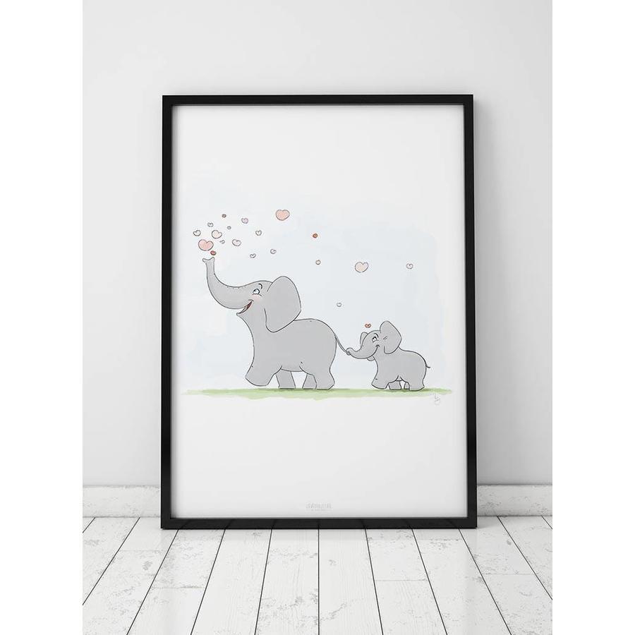 Roy Korpel original olifantje in het bos-3