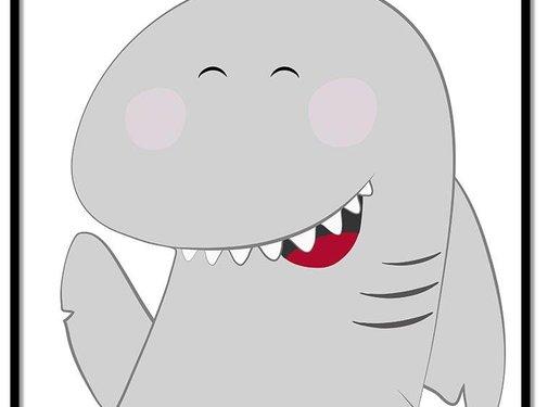 Lievespulletjes Poster haai