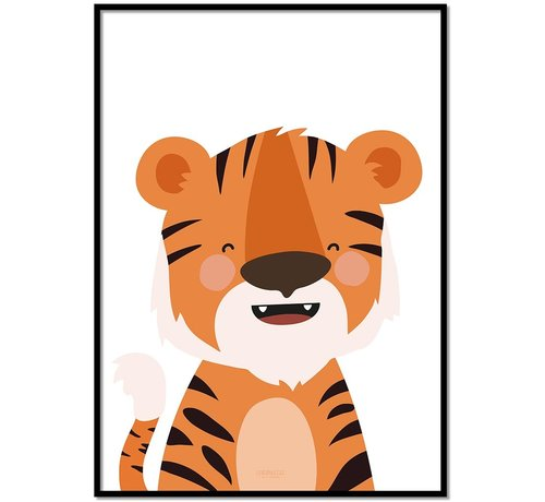 Lievespulletjes Poster kinderkamer tijger
