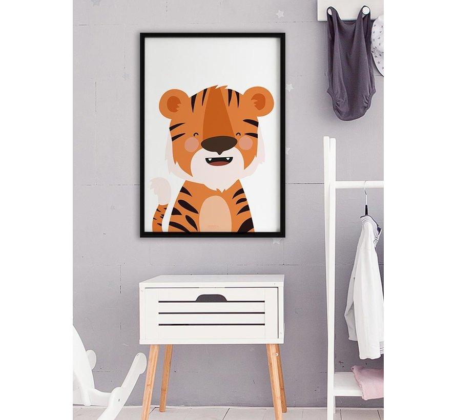 Poster kinderkamer tijger