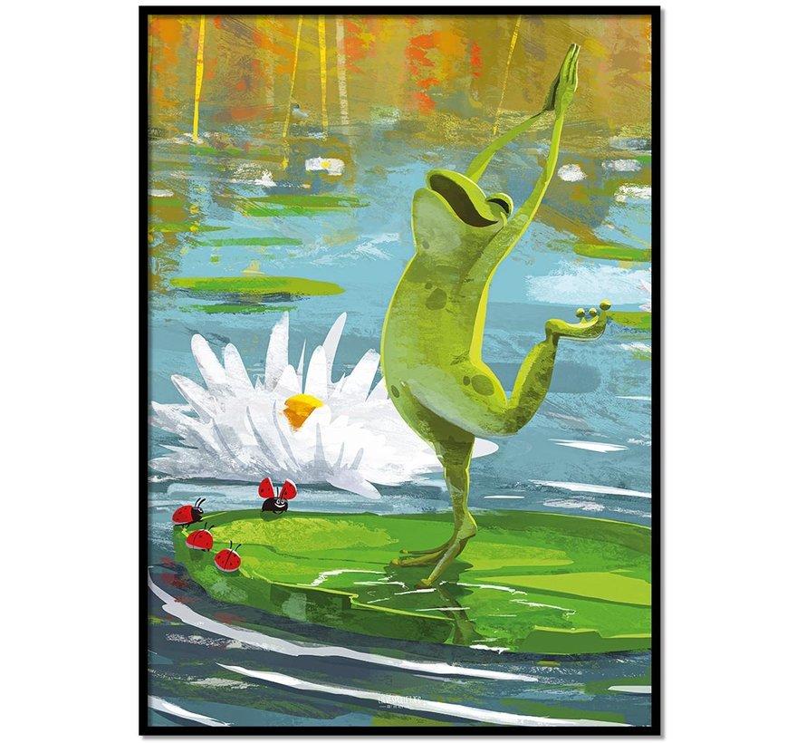 Roy Korpel original - de vrolijke kikker