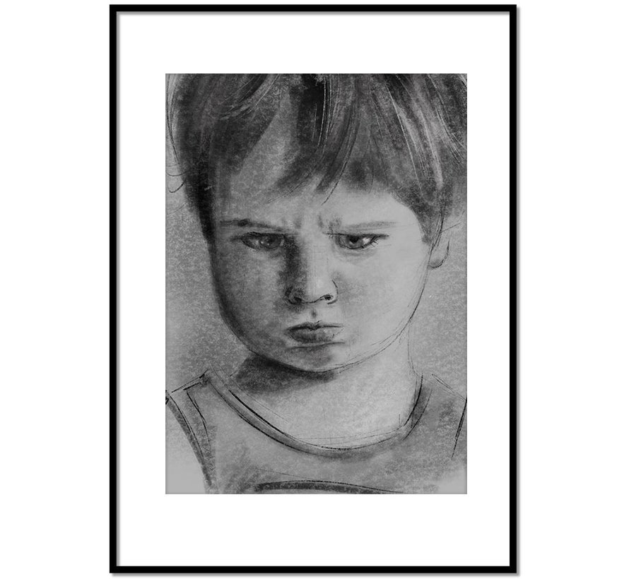 Portret tekening op maat