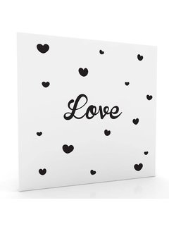 Muurdecoratie: Love
