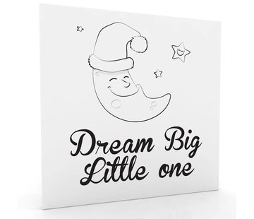 Muurdecoratie: Dream Big Little One