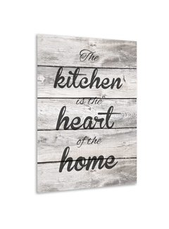 Muurdecoratie keuken: The Kitchen is the heart of the home