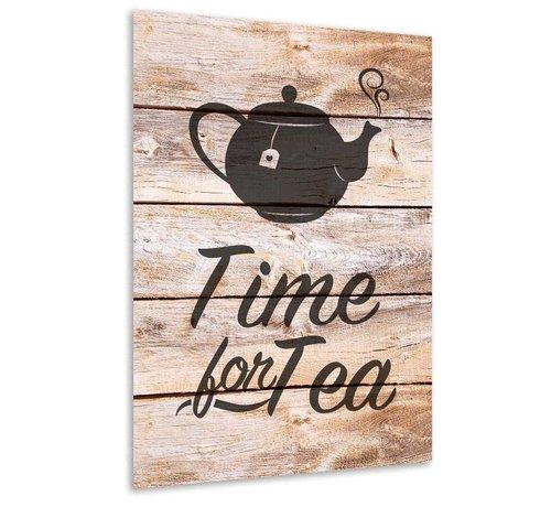 Muurdecoratie keuken: Time for tea