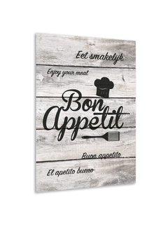 Muurdecoratie keuken: Bon Appetit
