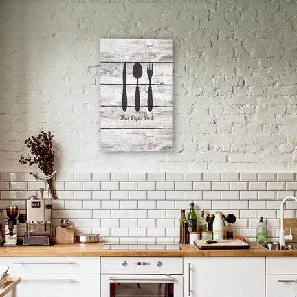 Canvas voor de keuken