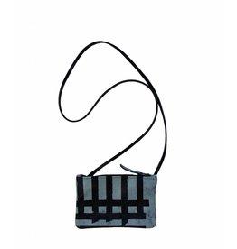 Tesj Handtasje zwart grijs zwart