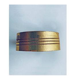 armband graphi-goudkleurige print #3