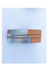 armband graphi-zilverkleurige print #7