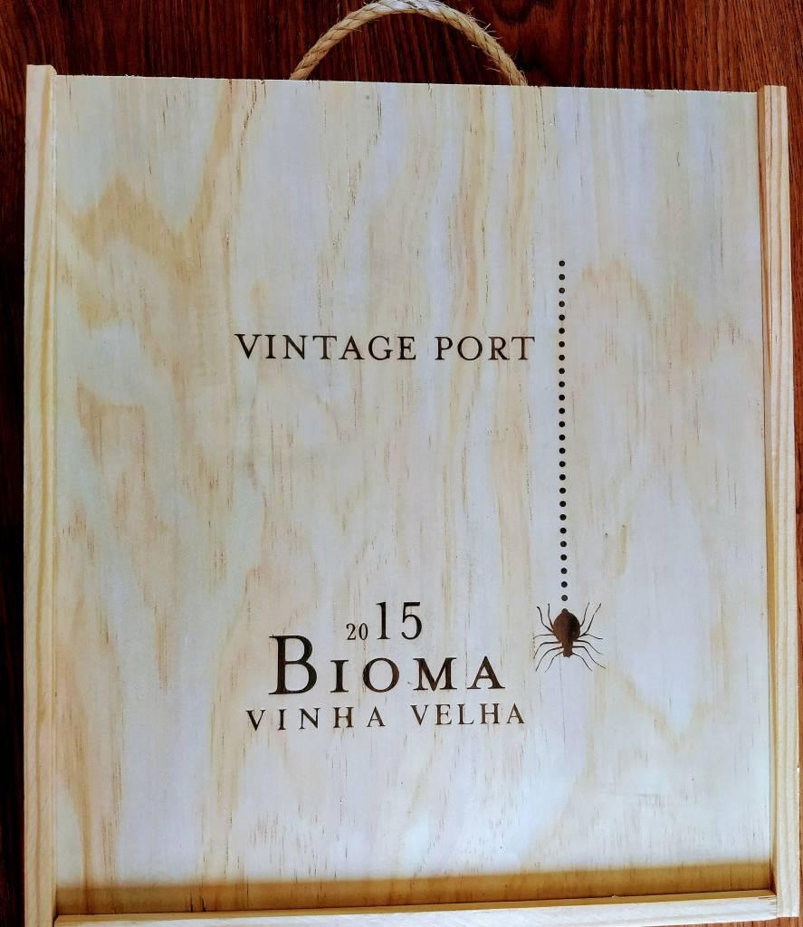 Niepoort Port Kistje à 3 x Vintage Port Bioma VV 2015