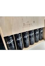 Niepoort Port Wooden box of 6 x 375 ml Vintage Port Bioma VV 2015