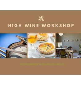 High Wine workshop 6 juli 2019