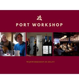 Niepoort Port Workshop 31 oktober 2021 in Delft
