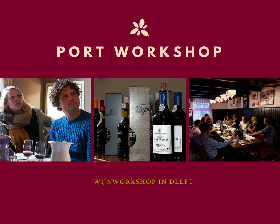 Niepoort Port Port tasting in Delft - wine workshop