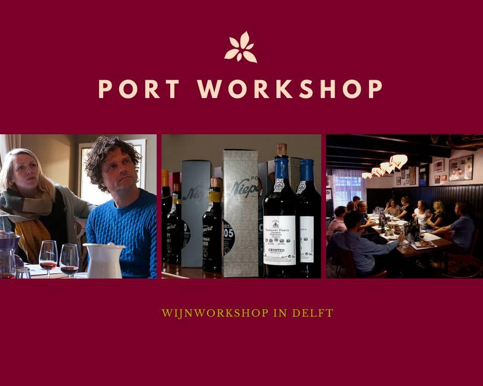 Niepoort Port Portproeverij in Delft - wijnworkshop