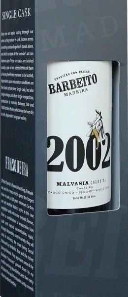 Barbeito Madeira Malvasia colheita 2002