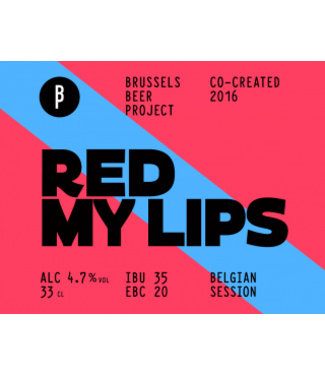 Brussels Beer Project Red my lips