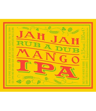 Flying Dutchman Jah Jah Rub A Dub Mango IPA