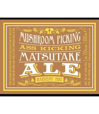 Flying Dutchman Mushroom Picking Ass Kicking Matsutake Ale