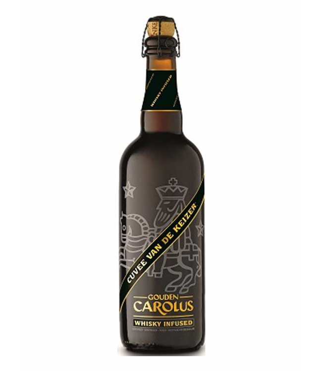 Gouden Carolus Cuvee van de Keizer Whisky infused fles 75 cl