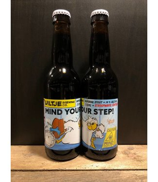 Uiltje Brewing co. Mind your step - Stroopwafel