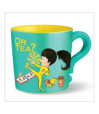Or Tea? Tea mug Kungflu fighter