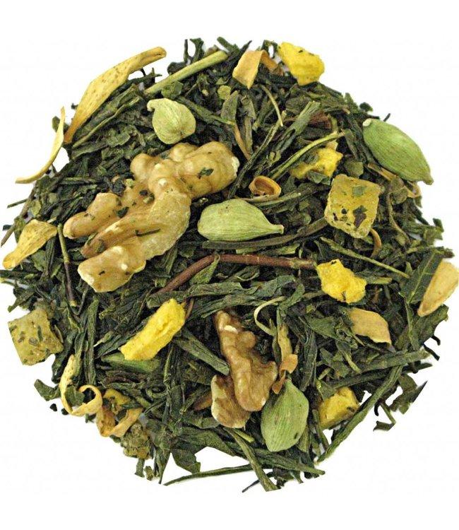 Walnut Vanilla Green tea
