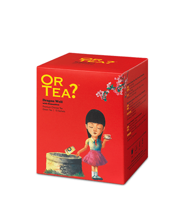 Or Tea? dragon well - theezakjes 15 stuks