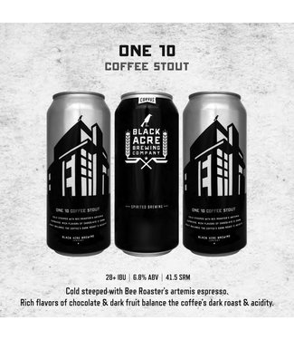 Black Acre – One 10 Coffee Stout