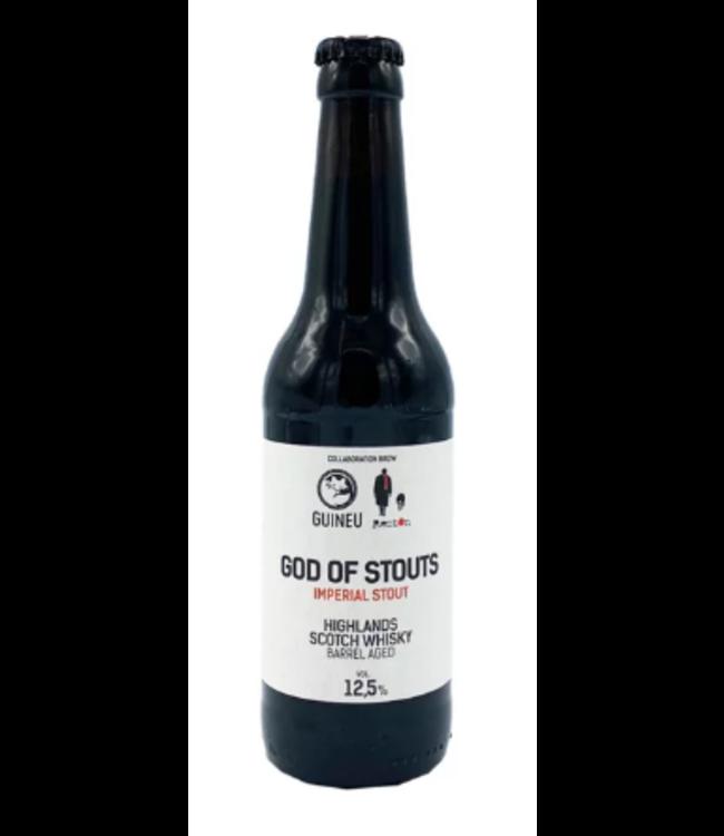 Guineu God of Stouts (Whisky BA)