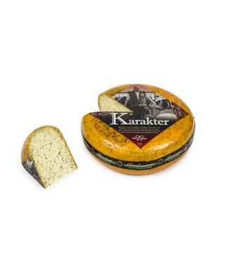 brandnetel-knoflook kaas van de boerderij