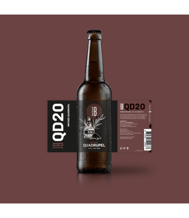 Berging QD20 Rum Infused Quadrupel