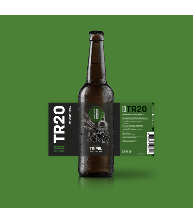 Berging TR20 Triple Sec Orange Tripel
